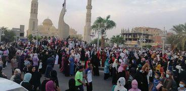 صلاة عيد الأضحى المبارك ببورسعيد