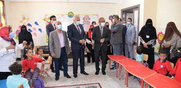 افتتاح مدرسة بالاسماعيلية