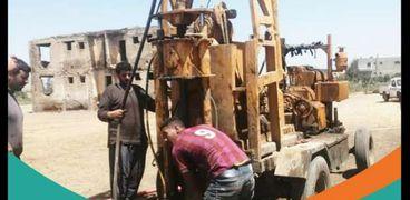 أعمال مبادرة حياة كريمة بمحافظة كفر الشيخ