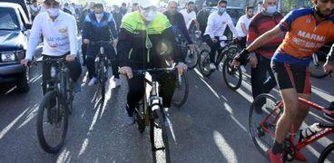 """الحكومة تواصل دعم مبادرة """"دراجتك ..صحتك"""""""
