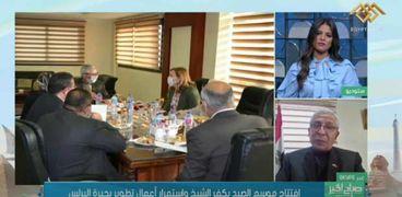 الدكتور صلاح مصيلحي رئيس الهيئة العامة لتنمية الثروة السمكية يكشف تطور البحيرات والمزارع السمكية
