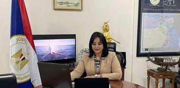 غادة شلبي نائب وزير السياحة والآثار لشئون السياحة