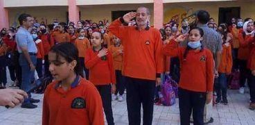 مدير مدرسة طه حسين الإبتدائية