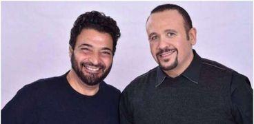 هشام عباس وحميد الشاعري