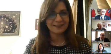 السفيرة نبيلة مكرم وزيرة الهجرة وشئون المصريين في الخارج