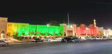 شوارع عمان تتزين لاستقبال العيد الوطني الـ50