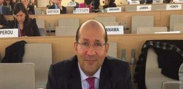 السفير المصري في إيطاليا-هشام بدر-صورة أرشيفية