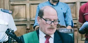 المستشار حسن معوض الباهي - رئيس محكمة جنايات المنصورة