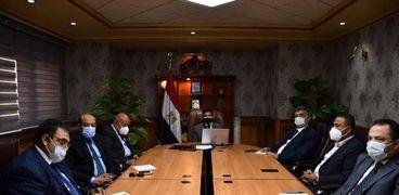 أول اجتماع لمجلس ادارة المنظمة المصرية لمكافحة المنشطات