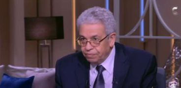 الدكتور عبدالمنعم سعيد، المفكر السياسي وعضو مجلس الشيوخ،