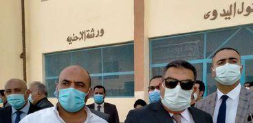 محرر الوطن بجولة تفقدية داخل سجن المنيا