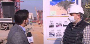 المهندس أحمد حسن خليل رئيس قطاع التخطيط والدراسات بالهيئة القومية للأنفاق
