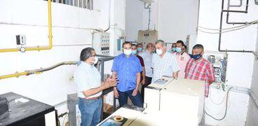 بتكلفة ٢٤ مليون..تطوير وحدة الغسيل الكلوي ومحطة الغازات بمستشفى سوهاج الجامعي