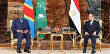 السيسي ورئيس الكونغو
