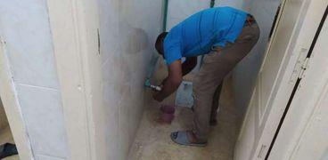 دورات المياه في المساجد