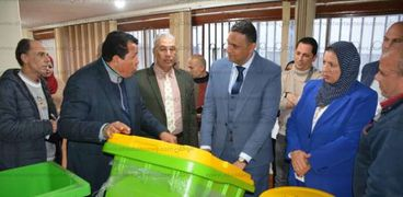 محافظ الدقهلية مشروع النظافة
