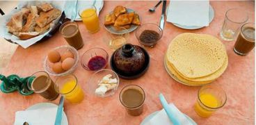 وجبة فطار المغرب