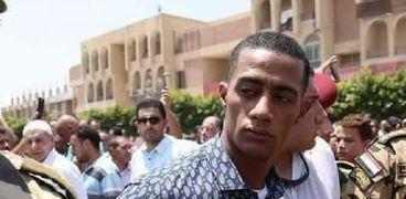 """محمد رمضان يشارك فى تشيع جنازة الشهيد """"أحمد المنسي"""""""