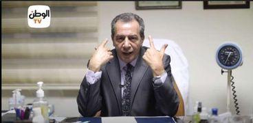الدكتور أشرف عقبة رئيس أقسام الباطنة والمناعة بجامعة عين شمس