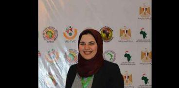 إسراء يونس مرشحة مصر عن جائزة القائد الإفريقي الشاب