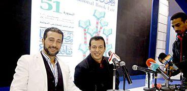 ندوة مصطفى شعبان بمعرض الكتاب