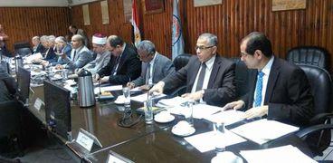 اجتماع سابق لمجلس جامعة الأزهر