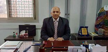 الدكتور عمرو شحاتة وكيل وزارة التربية والتعليم ببني سويف