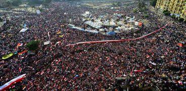 ثورة 30 يونيو تكتب مشهد النهاية للإخوام