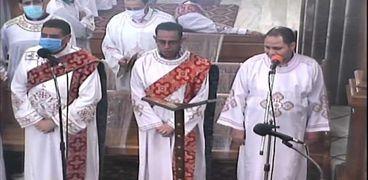 قداس عيد القيامة من الإسكندرية