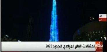 احتفالات برج خليفة