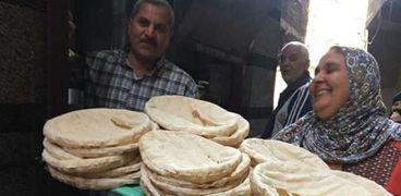 إنتاج الخبز في الدقهلية - أرشيفية
