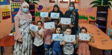 خلال حملات توعوية لترشيد الاستهلاك بمبادرة حياة كريمة
