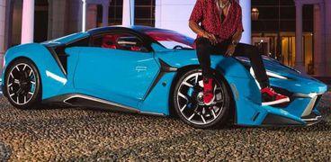 فنينر سوبر سبورت - سيارة محد رمضان فى الكليب