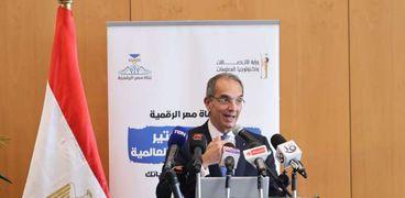 الدكتور عمرو طلعت، وزير الاتصالات