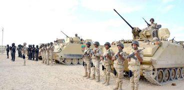 الجيش يقود الحرب على الإرهاب