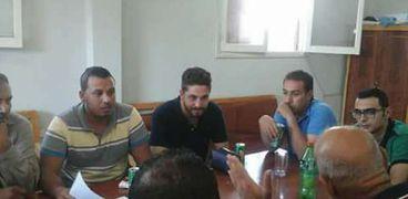 لجنة بيت الزكاة والصدقات المصري يقدم خدماته لأكثر القري احتياجا في دمياط