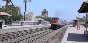 أحد قطارات السكة الحديد الجديدة - صورة أرشيفية