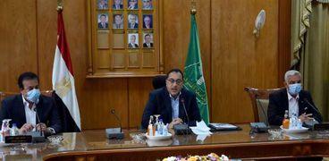 زيارة رئيس الوزراء لجامعة المنوفية