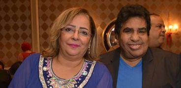 احمد عدوية وزوجته نوسة