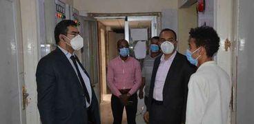 جولة ميدانية بمستشفيات المنيا