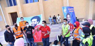 حملات توعوية بمخاطر الإدمان في كفر الشيخ