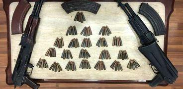 ضبط 30 قطعة سلاح وتنفيذ 1265 حكم في حملة امنية بسوهاج