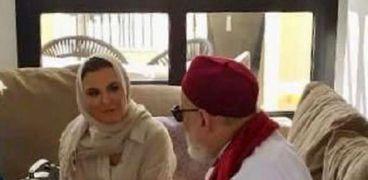 الدكتور علي جمعة وسحر نصر