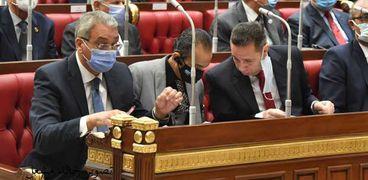 أعضاء مجلس الشيوخ فى جلسة عامة