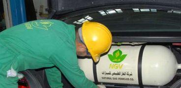 استخدام الغاز الطبيعي كوقود للسيارات يحقق وفراً 50% لصاحبها