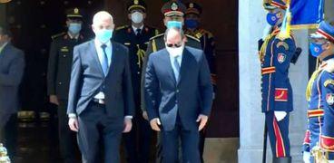 الرئيس السيسي والرئيس التونسي