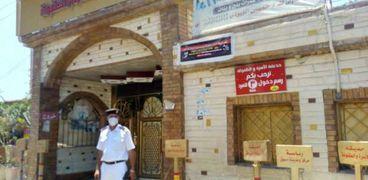 خلو الكورنيش والشوارع من المعيدين في كفر الشيخ
