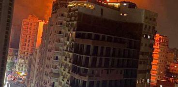 حريق بأحد الفنادق بطنطا والحماية المدنية تسيطر ب 3 سيارات دون اصابات