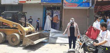حملات مكبرة لرفع مستوي النظافة أيام عيد الاضحي بمدينة سوهاج