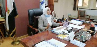 المهندسة جيهان عبد المنعم، نائب محافظ القاهرة للمنطقة الجنوبية